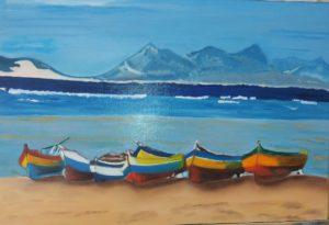 Plage du Cap Vert par Guy Crosnier