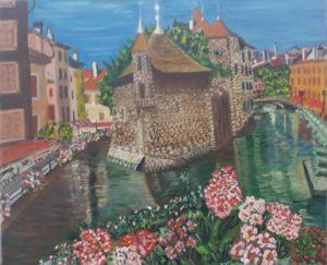 Annecy par Guy Crosnier